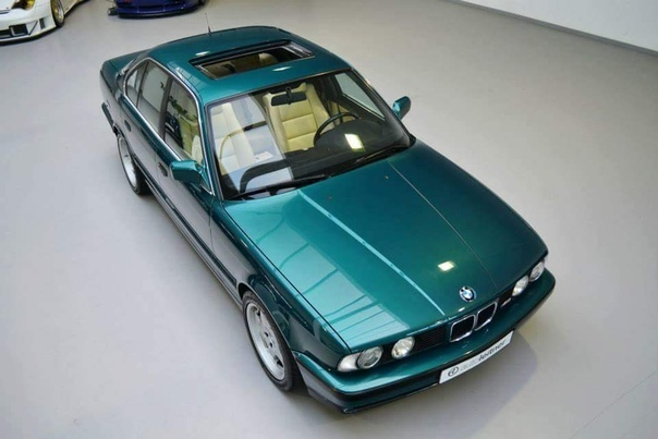 1992 BMW M5 E34 Laguna Green Metallic. The World's Ultimate Super Saloon
